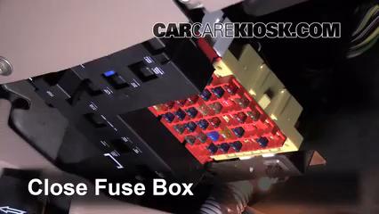 interior fuse box location: 1990-1997 ford aerostar - 1997 ford aerostar  xlt plus e4wd 4.0l v6 mini passenger van  carcarekiosk