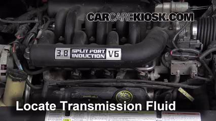 1996 Ford Windstar GL 3.8L V6 Pérdidas de líquido Líquido de transmisión (arreglar pérdidas)