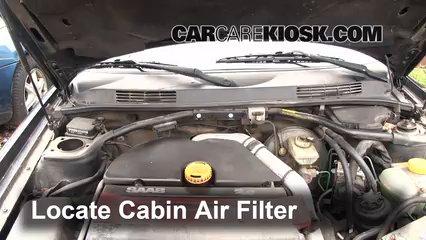 BORG /& BECK CABIN POLLEN FILTER FOR SAAB SALOON 9-3 2.2 92KW