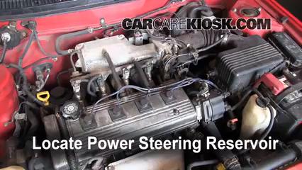 1996 Toyota Corolla 1.6L 4 Cyl. Power Steering Fluid