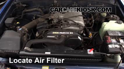 1996 Toyota T100 SR5 3.4L V6 Extended Cab Pickup Air Filter (Engine)