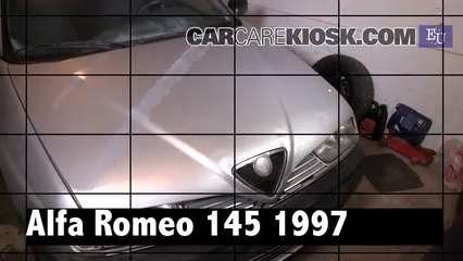 1997 Alfa Romeo 145 T.Spark 1.4L 4 Cyl. Review