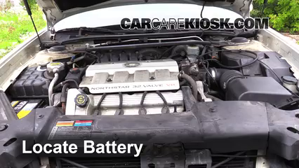 How to Jumpstart a 1994-1999 Cadillac DeVille - 1997