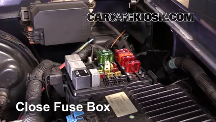 Replace a Fuse: 1992-1999 Chevrolet Tahoe - 1997 Chevrolet Tahoe 5.7L V8CarCareKiosk