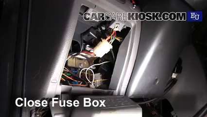 interior fuse box location: 1993-1999 fiat punto - 1997 fiat punto sx 1 1l  4 cyl