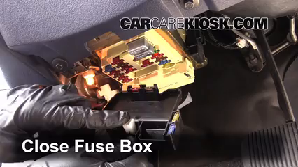 Interior Fuse Box Location: 1990-1997 Mercury Cougar - 1996 Mercury Cougar  XR-7 4.6L V8CarCareKiosk