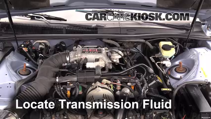 1997 Ford Thunderbird LX 4.6L V8 Transmission Fluid