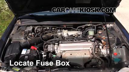 Fuse Engine Part 1 blown fuse check 1994 1997 honda accord 1997 honda accord lx 2 2l