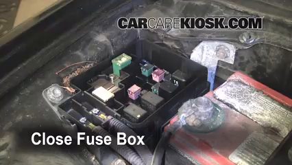 replace a fuse 1996 2000 honda civic 1997 honda civic lx 1 6l 4 cyl rh carcarekiosk com 97 civic fuse box layout 97 civic fuse box under hood