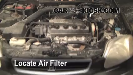 1997 Honda Civic LX 1.6L 4 Cyl. Air Filter (Engine)