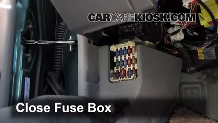 interior fuse box location: 1997-2003 ford escort - 1999 ford escort se  2 0l 4 cyl  sedan