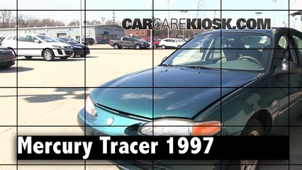 1997 Mercury Tracer LS 2.0L 4 Cyl. Sedan Review