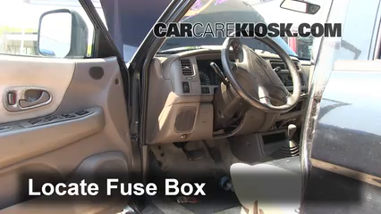 interior fuse box location 1997 2004 mitsubishi montero sport rh carcarekiosk com 2002 Ford Windstar Fuse Box Diagram 2002 Altima Fuse Box Diagram