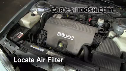 carcarekiosk all videos page pontiac bonneville 1997 1997 pontiac bonneville se 3 8l v6 air filter engine