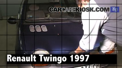 1997 Renault Twingo Air 1.1L 4 Cyl. Review