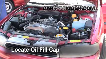 Oil & Filter Change Subaru Legacy (1995-1999) - 1997 Subaru Legacy L ...