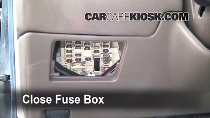 [DIAGRAM_38IU]  Interior Fuse Box Location: 1997-2001 Toyota Camry - 1997 Toyota Camry XLE  3.0L V6 | 2001 Camry Fuse Box Diagram |  | CarCareKiosk