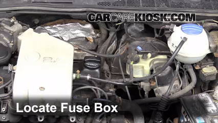 replace a fuse: 1992-1998 volkswagen golf
