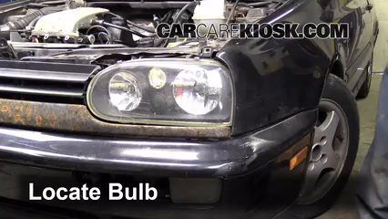 1997 Volkswagen Golf GTI 2.0L 4 Cyl. Lights