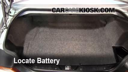 1997 BMW Z3 Roadster 2.8L 6 Cyl. Batterie