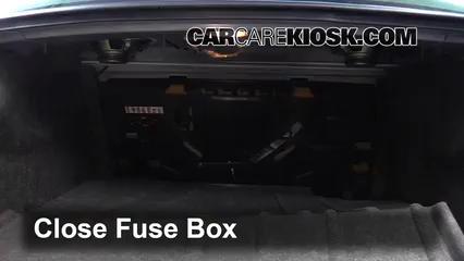 Interior Fuse Box Location: 1994-1999 Cadillac DeVille - 1997 Cadillac  DeVille 4.6L V8 Sedan | 1998 Cadillac Deville Fuse Box |  | CarCareKiosk