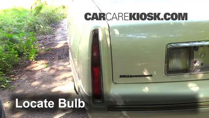 1997 Cadillac DeVille 4.6L V8 Sedan Lights
