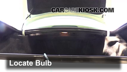 1997 Cadillac DeVille 4.6L V8 Sedan Lights Center Brake Light (replace bulb)