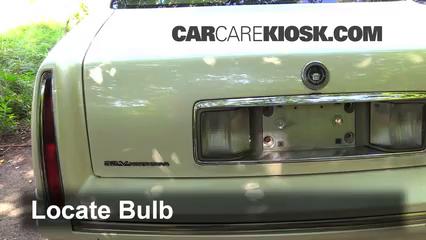 1997 Cadillac DeVille 4.6L V8 Sedan Lights Reverse Light (replace bulb)