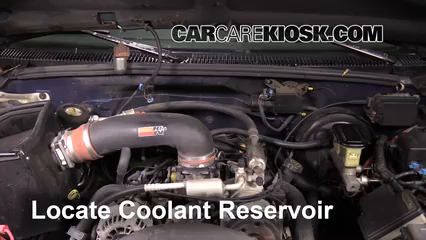 1997 Chevrolet Tahoe 5.7L V8 Antigel (Liquide de Refroidissement)