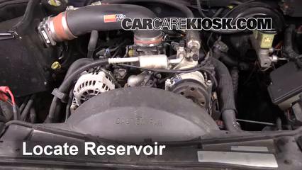 1997 Chevrolet Tahoe 5.7L V8 Liquide essuie-glace