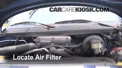 1997 Dodge Ram 2500 5.9L V8 Standard Cab Pickup Filtre à air (moteur)