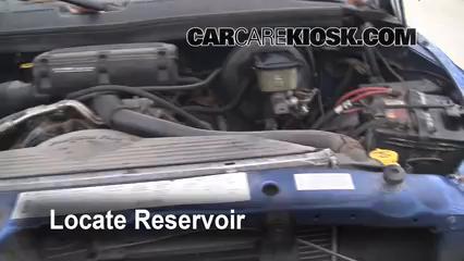 1997 Dodge Ram 2500 5.9L V8 Standard Cab Pickup Liquide essuie-glace