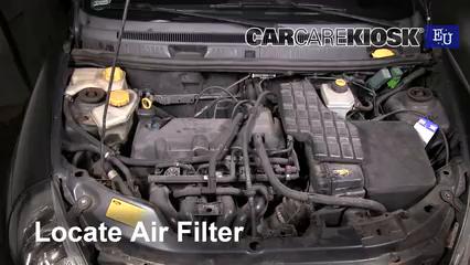 1997 Ford Ka Silver 1.3L 4 Cyl. Filtro de aire (motor)