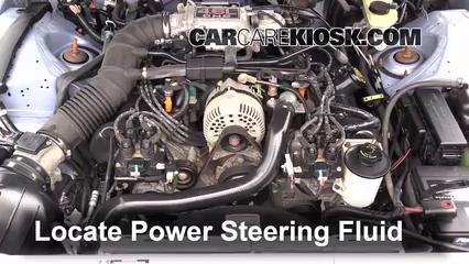 1997 Ford Thunderbird LX 4.6L V8 Liquide de direction assistée
