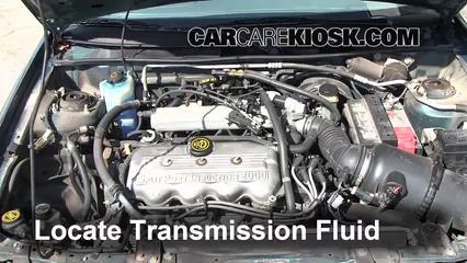2002 Ford Escort ZX2 2.0L 4 Cyl. Liquide de transmission