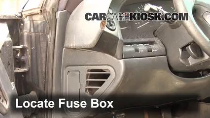 1997 Oldsmobile Aurora 4.0L V8 Fuse (Interior)