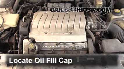1997 Oldsmobile Aurora 4.0L V8 Oil