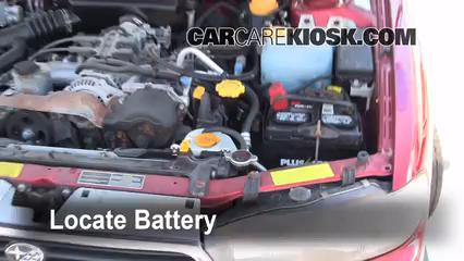 1997 Subaru Legacy L 2.2L 4 Cyl. Wagon Battery