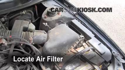 1997 Toyota Camry XLE 3.0L V6 Filtro de aire (motor) Cambio