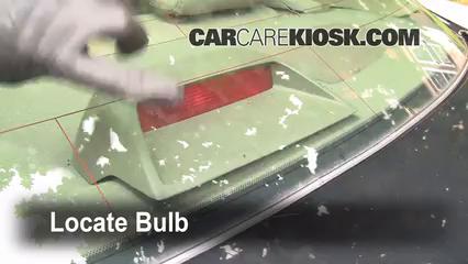 1997 Toyota Camry XLE 3.0L V6 Luces Luz de freno central (reemplazar foco)