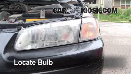 1997 Toyota Camry XLE 3.0L V6 Luces Luz de giro delantera (reemplazar foco)