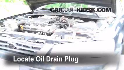 1997 Toyota Camry XLE 3.0L V6 Aceite Cambiar aceite y filtro de aceite