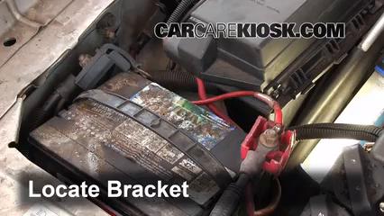 battery replacement: 1997-2005 buick park avenue - 1998 buick park avenue  3 8l v6