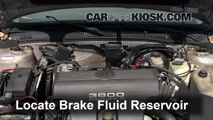1998 Buick Park Avenue 3.8L V6 Brake Fluid