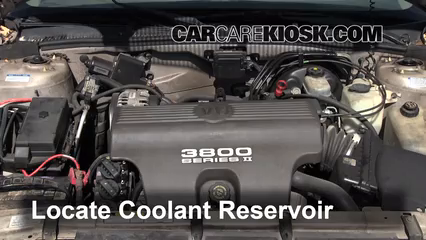 [FPER_4992]  How to Add Coolant: Buick Park Avenue (1997-2005) - 1998 Buick Park Avenue  3.8L V6 | Buick Engine Coolant |  | CarCareKiosk