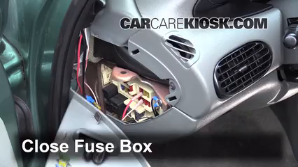 interior fuse box location 1995 2000 chrysler cirrus 1998 rh carcarekiosk com  1998 chrysler sebring lxi fuse diagram