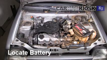 1998 Daewoo Tico SE 0.8L 3 Cyl. Battery