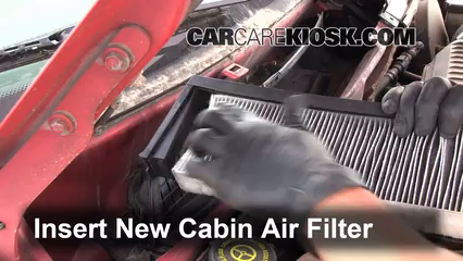 Cabin Filter Replacement Ford Contour 1995 2000 1998 Ford