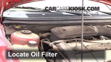 Oil & Filter Change Ford Contour (1995-2000) - 1998 Ford Contour LX ...