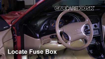 1994 ford mustang fuse box diagram interior fuse box location 1994 2004 ford mustang 1994 ford  interior fuse box location 1994 2004